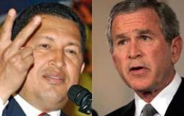 Bush and Chavez share lowest image in the region