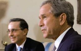 Pte. Uribe and Pte. Bush