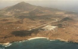 Ascension Islands airport