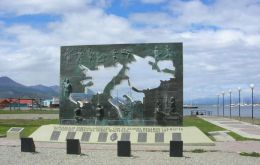 Malvinas Memorial at Ushuaia