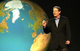 Al Gore seminar will be held on May 11th in Santiago.