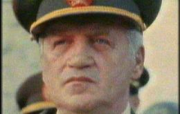 """I'm one in three"" replied General Galtieri"