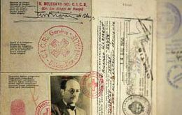 Eichmann's passport was issued by the Italian Red Cross
