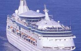 "In January 2008 Royal Caribbean has plans to sail from Hong Kong with ""Rhapsody of the Seas"""