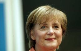 Angela Merkel, the first woman to become Chancellor of Germany, ranks No. 1