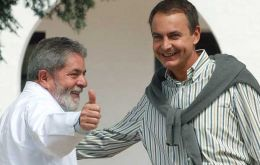Pte. Lula and PM Zapatero