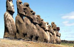 Easter Island is over 2,000 miles from the nearest population center