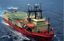 Survey vessel <i>Ocean Explorer""