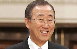 UN Secretary General Ban Ki-moon said he is willing to play a role