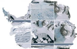 "With Landsat (LIMA)  you can even ""walk"" in the Antarctica"