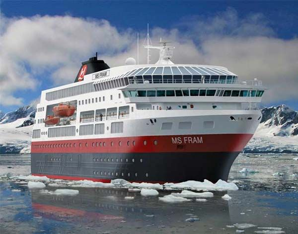 Damaged Antarctic Cruise Takes Refuge In Chilean Base MercoPress - Antartica cruise ship