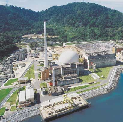 Angra dos Reis Nuclear Power Plant Complex in the state of Rio de Janeiro, Brazil