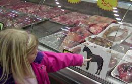 Horse meat is big in Russia, Holland and France