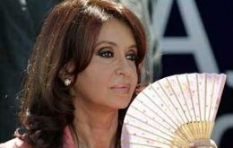 Argentina's president is rapidly loosing her political glamour