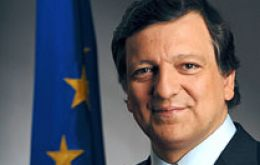 Barroso happy with the strong Euro