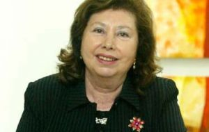 Lucia Pinochet Hiriart said she made her mind up to run at the last minute