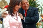 """We have great trust in the Argentines""  Chavez added following a meeting with Mrs. Kirchner"