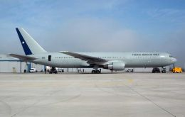 Chilean Air Force 767-300
