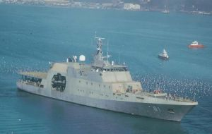 """Piloto Pardo"",  new  Chilean patrol vessel"