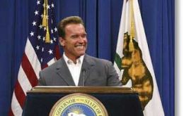 'Terminator' Schwarzenegger is one of many USA Governors short of money