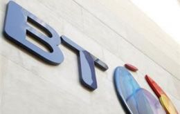 BT have been fined for fixing figures at an MoD call centre