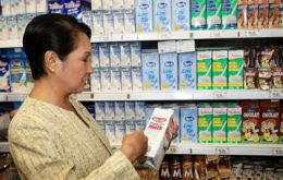 China today announced more precise standards for milk