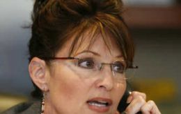 """Ohhh, have we been pranked?"" Palin asks before handing the phone"