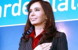 Pte. CFK during Mar del Plata  announcements