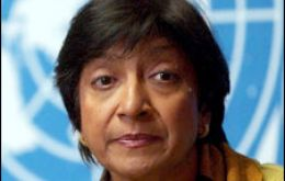 UN Commissioner for Human Rights Navi Pillay