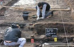 Bones were unearthed during a seven-month search at an ex-detention post in La Plata