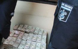 800.000 US dollars in cash that was found in 2007 in a Buenos Aires airport.