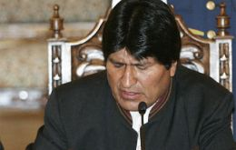"Morales: ""Sooner or later we will return to the Pacific Ocean"""