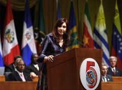 Cristina: Obama is evidence of the dramatic changes in the last 4 years
