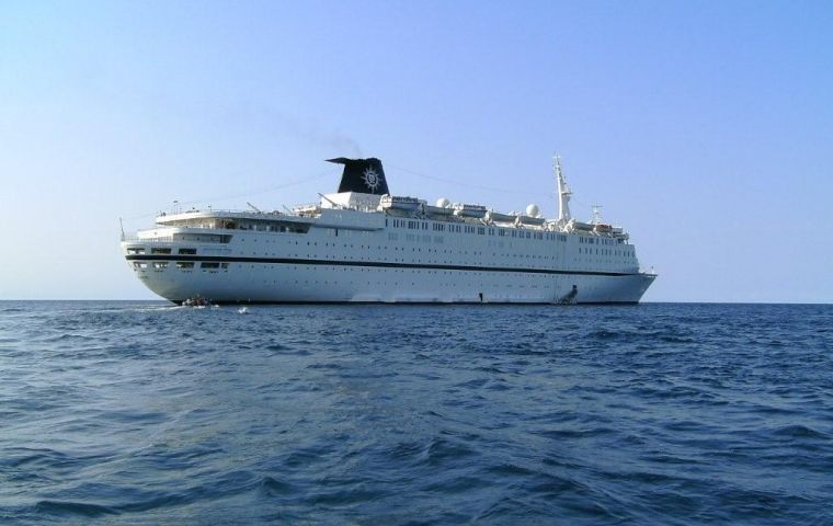 Cruise Ship Melody Fended Off A Pirate Attack MercoPress - Pirates attack cruise ship