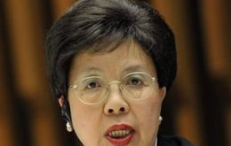 Margaret Chan, Director General of the World Health Organization