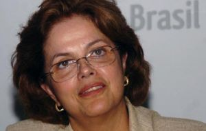 Chief of Staff Dilma Rousseff handpicked to succeed Lula da Silva