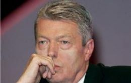 "Alan Johnson admits leadership ambition but backs PM Brown ""to the hilt"""