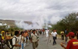 The deadly clashes with protesting indigenous groups are showing up in the Peruvian public opinion polls.
