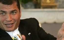 President Rafael Correa becomes the ninth leader to officially join the Bolivarian project