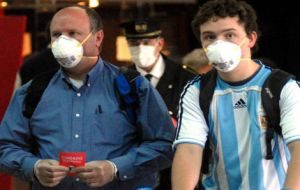 Argentina is rapidly escalating the list of countries with the highest incidence of the A/H1N1 flu.
