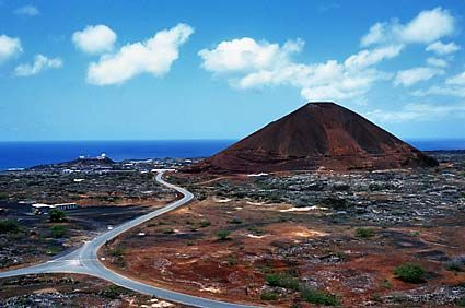 Welcome To Ascension Island Map
