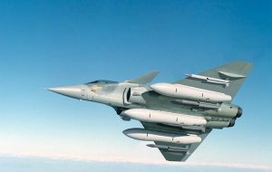 Dassault's Rafale, the Super Hornet F18 and Sweden's Grippen are competing to supply Brazil with 120 fighter planes.