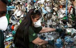 The toxic trash in 89 containers included hospital waste and batteries