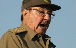 """The land is waiting for our sweat"", enough of ""down with imperialism"" underlined Raul Castro"