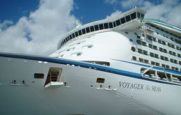 "A flu virus surprises ""Voyager of the Seas"" during a Mediterranean cruise"