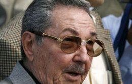 Raul Castro again announced austerity faced with the island's worst financial crisis since the 1990s.