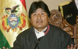 "Bolivia could end up surrounded by the ""empire"" says Morales"