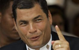 Ecuadorian president Rafael Correa is the next Unasur president and has promised strong action regarding US military forces in Colombia and the prevalence of OAS.