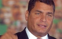 Ecuador's Correa recalled US disavowal in 1982 of a regional assistance treaty