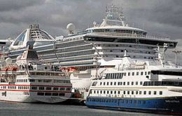 Ushuaia has become the main port for leisure cruises to Antarctica